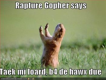 rapture humour