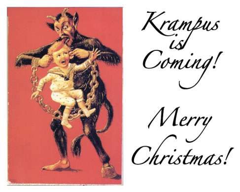 Krampus christmas