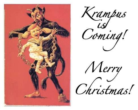 Krampus christmas