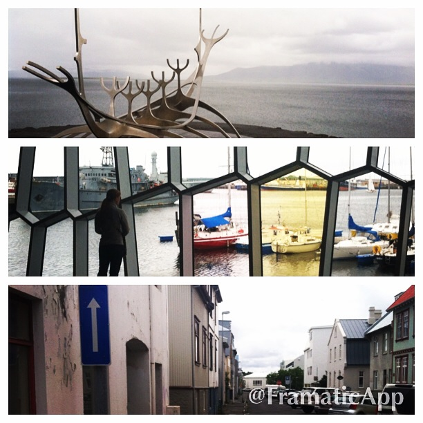Snapshots from the various spots we visited throughout Reykjavik as we learned to use the bus system.