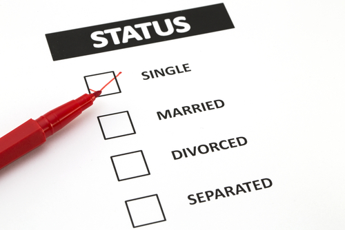 how to change my marital status on centrelink