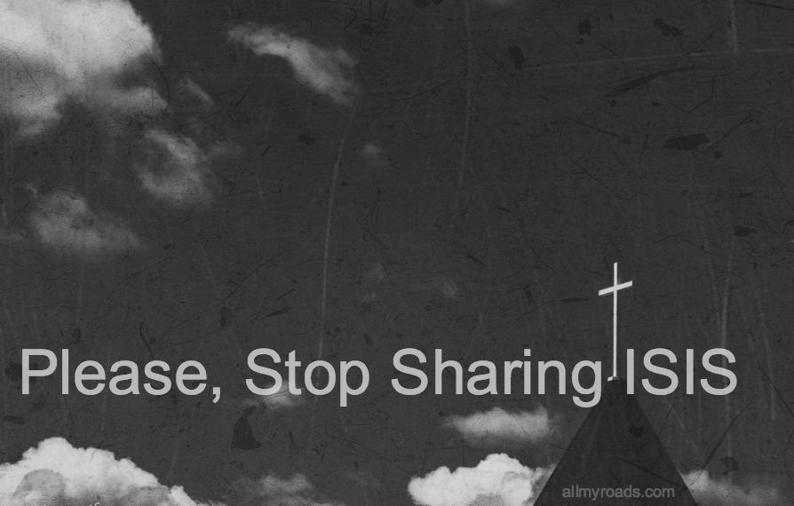 Stop Sharing ISIS
