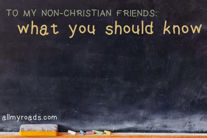 Christian friend dating non christian