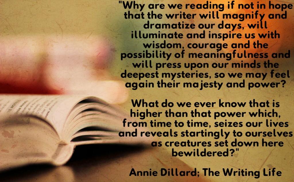 writing life dillard